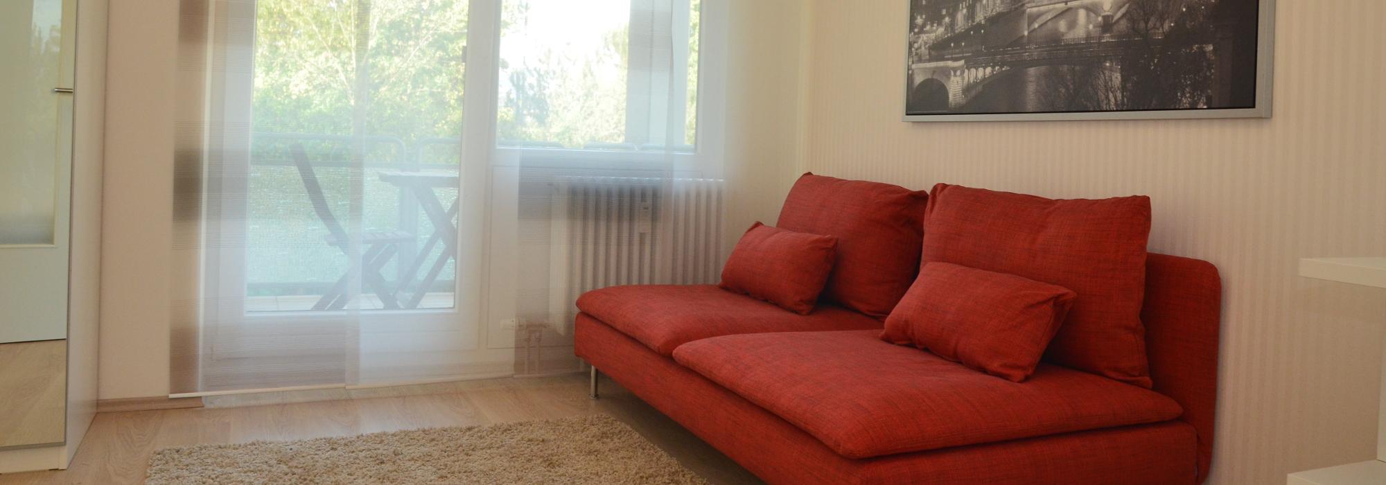 Top möblierte Wohnung, frisch renoviert
